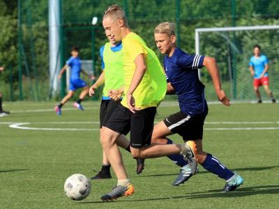 obóz piłkarski na Mazurach